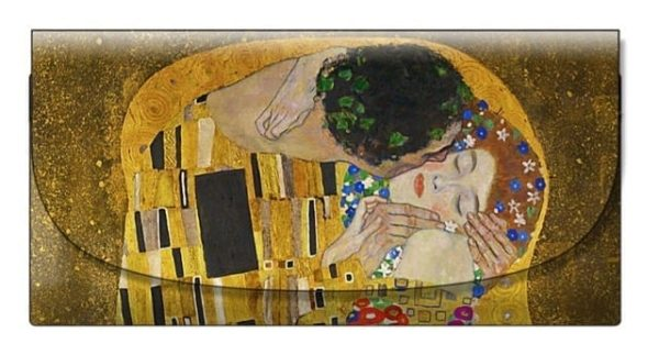 Velour Glasses Case The Kiss Klimt