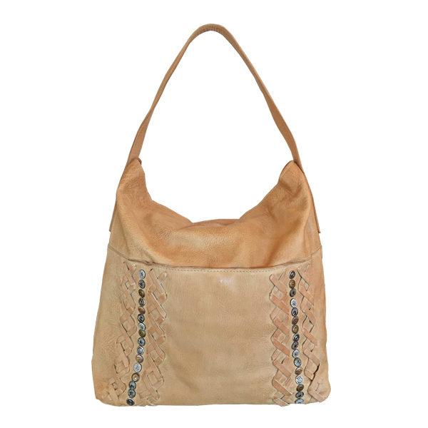 Leather Bag Cadelle Havana Camel