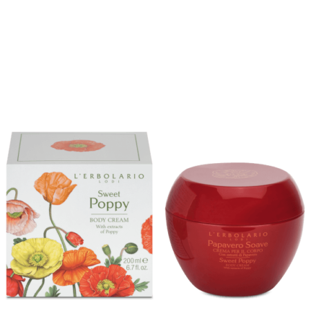 L'Erbolario Sweet Poppy Body Cream