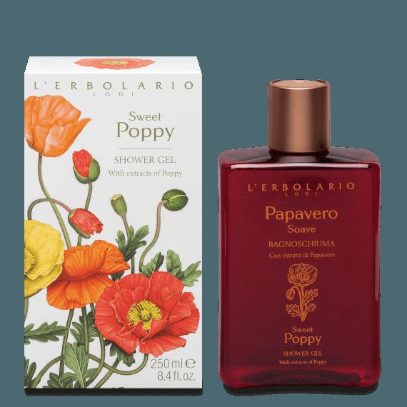 L'Erbolario Sweet Poppy Shower Gel