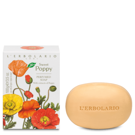 L'Erbolario Sweet Poppy Soap