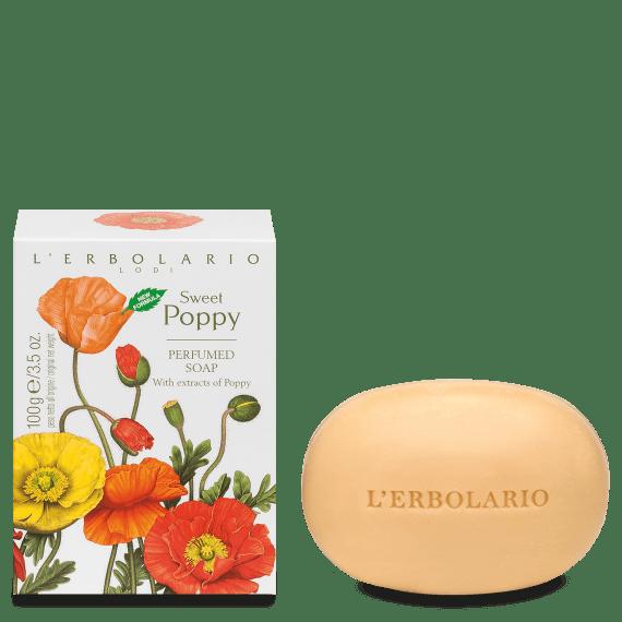 L'Erbolario Sweet Poppy Soap