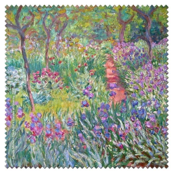 Microfibre Cloth Garden Giverny Monet