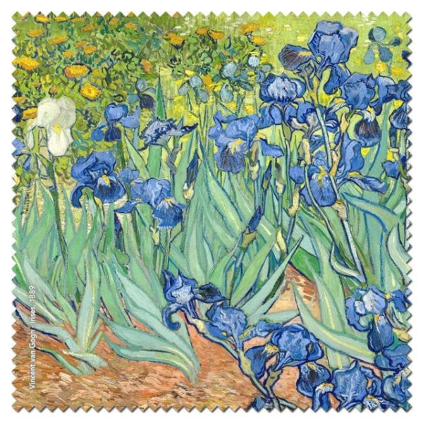 Microfibre Cloth Irises Van Gogh