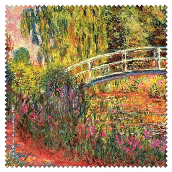 Microfibre Cloth Japanese Bridge Monet
