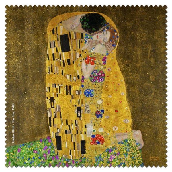 Microfibre Cloth The Kiss Klimt