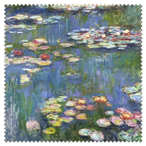 Microfibre Cloth Water Lilies Monet