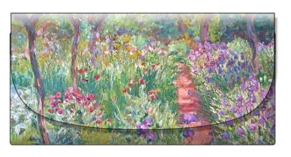 Velour Glasses Case Garden at Giverny Monet