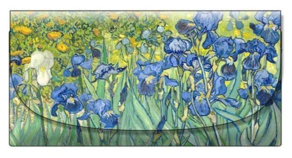 Velour Glasses Case Irises Van Gogh