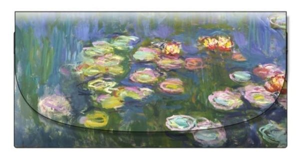Velour Glasses Case Water Lilies Monet
