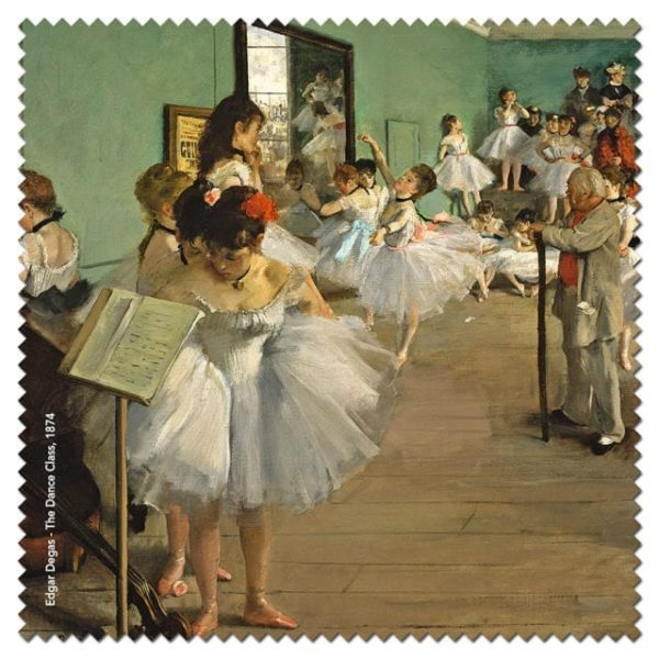 Microfibre Cloth The Dance Class Degas