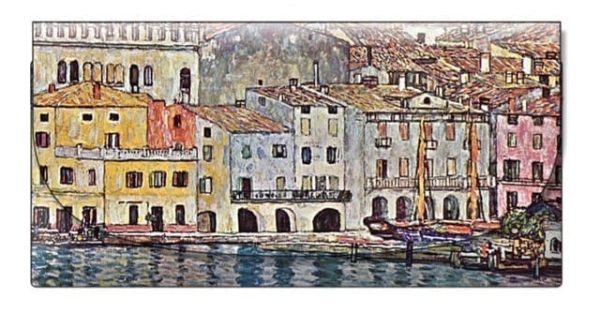 Velour Glasses Case Malcesine Klimt