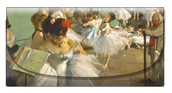 Velour Glasses Case The Dance Class Degas