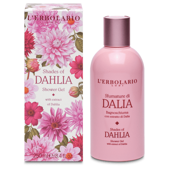 L'Erbolario Dahlia Shower Gel