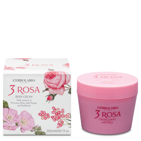 L'Erbolario 3 Roses Body Cream