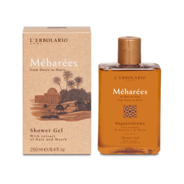 L'Erbolario Meharees Shower Gel - 250ml