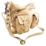 Cadelle Leather Bag Athena Camel