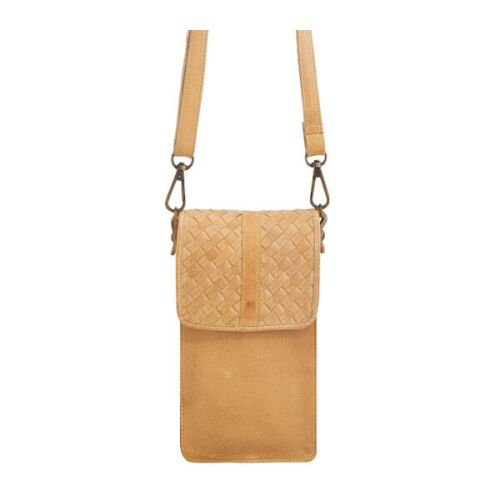 Cadelle Leather Phone Case Camel