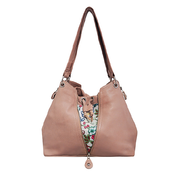 Cadelle Leather Bag Becky Misty Rose
