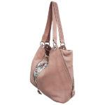 Cadelle Leather Bag Becky Misty Rose