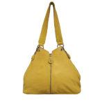 Cadelle Leather Bag Becky Saffron