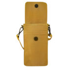 Cadelle Leather Phone Case Saffron